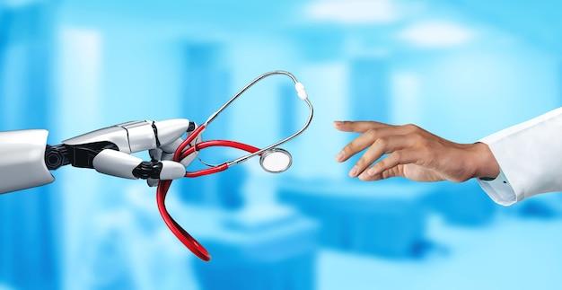 Robô médico e tecnologia biomédica