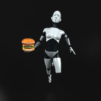 Robô - personagem 3d