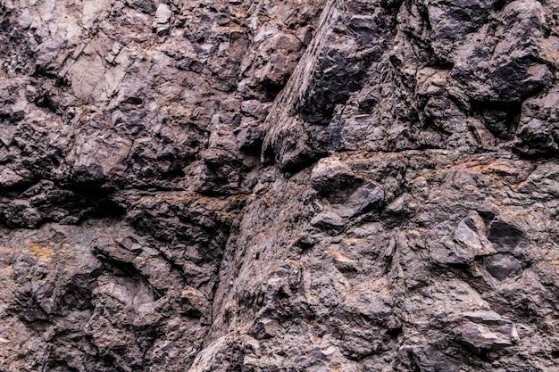 Rochas naturais, estrutura da superfície da textura de pedra. fundo abstrato