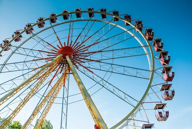 Roda gigante de atração