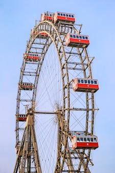 Roda gigante em prater, viena, áustria