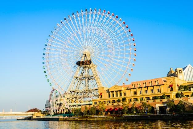 Roda gigante no parque