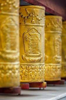 Rodas de oração no mosteiro tabo