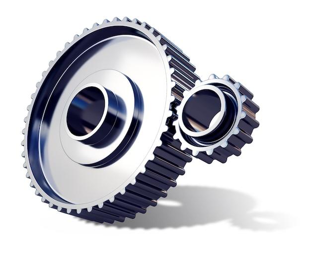 Rodas dentadas de metal