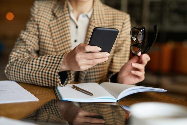 Rolagem em smartphone