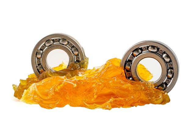 Rolamento de esferas inoxidável com lubrificação de graxa de lítio para máquinas automotivas e industriais