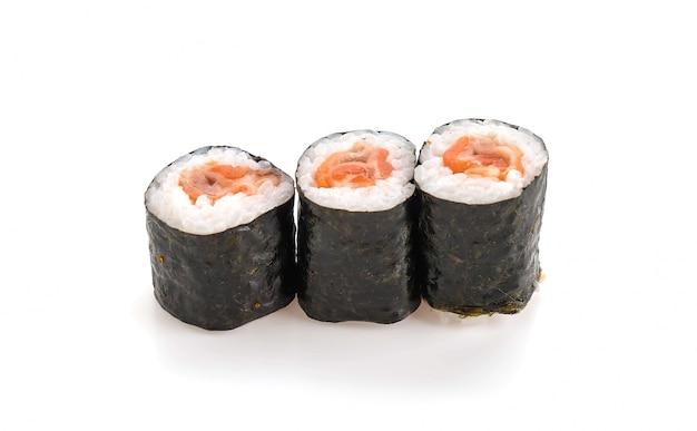 Rolha de ebi de salmão