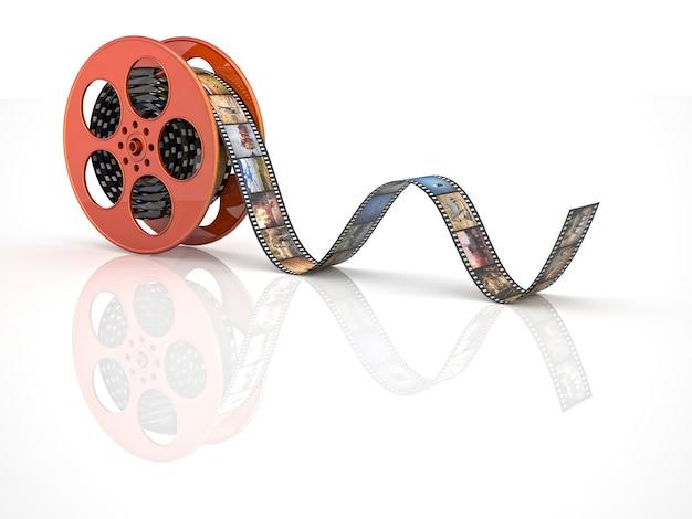 Rolo de filme de cinema