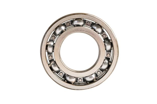 Rolo de metal inoxidável com rolamento de esferas para contato angular industrial de máquina