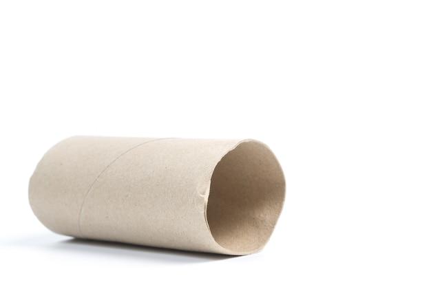 Rolo de papel de tecido vazio