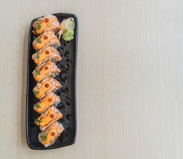 Rolo de salmão