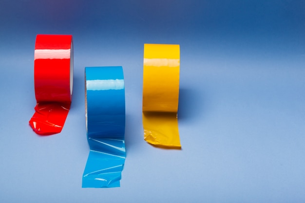 Rolos de fita adesiva de isolamento