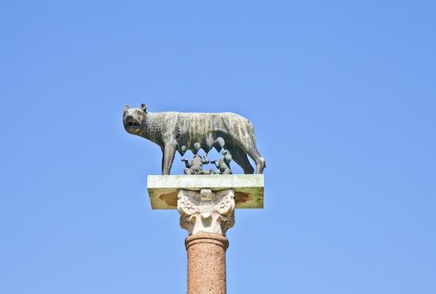 Rômulo e remo são os fundadores gêmeos de roma em seu mito de fundação tradicional