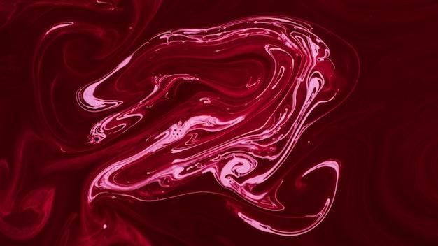 Rosa artesanal fluindo textura de mármore