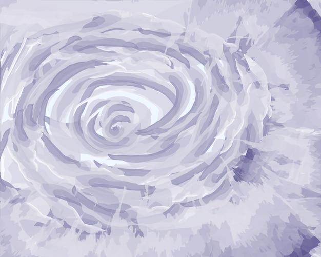 Rosa azul suave sobre fundo azul
