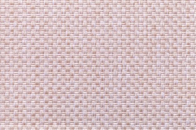 Rosa com padrão xadrez, closeup. estrutura da macro de tecido.