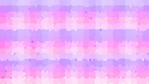 Rosa pastel mosaico abstrato com textura de fundo, padrão de fundo de papel de parede gradiente