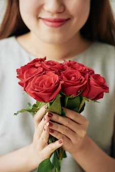 Rosas frescas