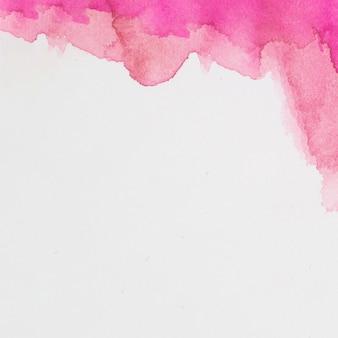 Rose mix de tintas em papel branco
