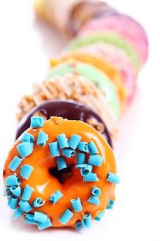 Rosquinhas coloridas e saborosas