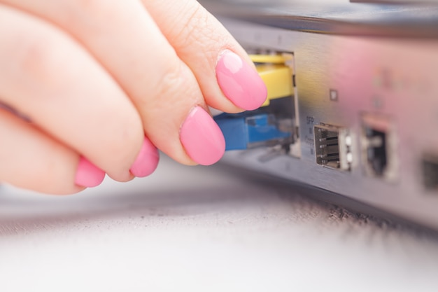 Roteador da internet