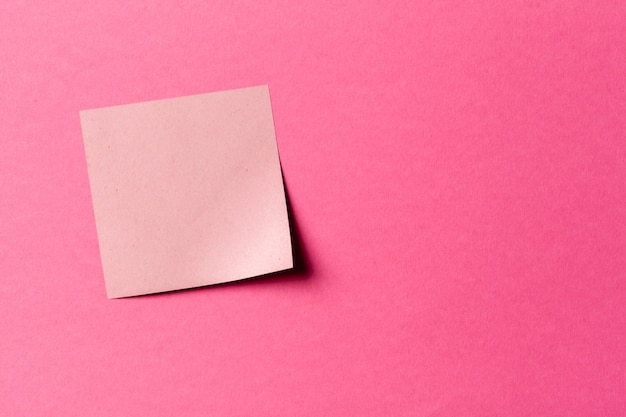 Rótulo. etiquetas de papel para as notas