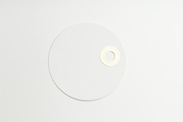 Rótulo isolado no branco