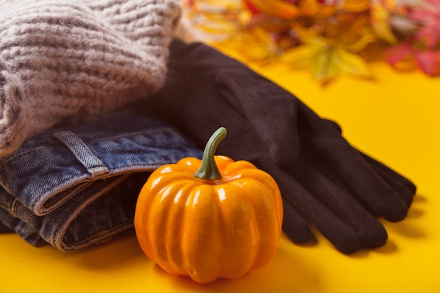 Roupa feminina de outono
