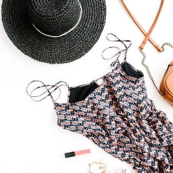 Roupas e acessórios femininos da moda