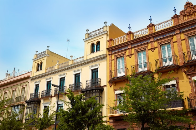 Rua sevilha san fernando, na andaluzia