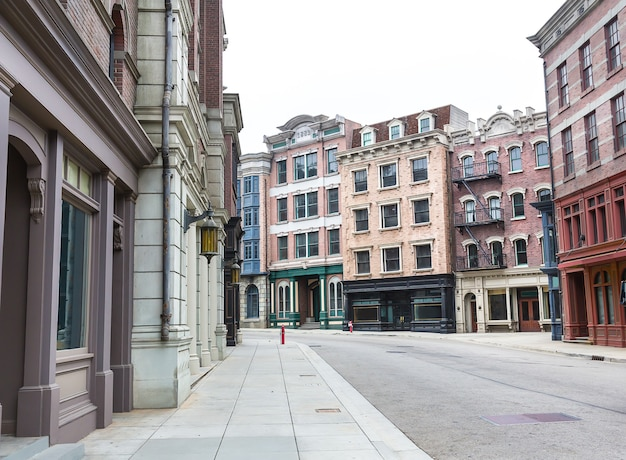 Rua vazia da cidade velha