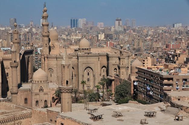 Rua velha do cairo árabe, egito