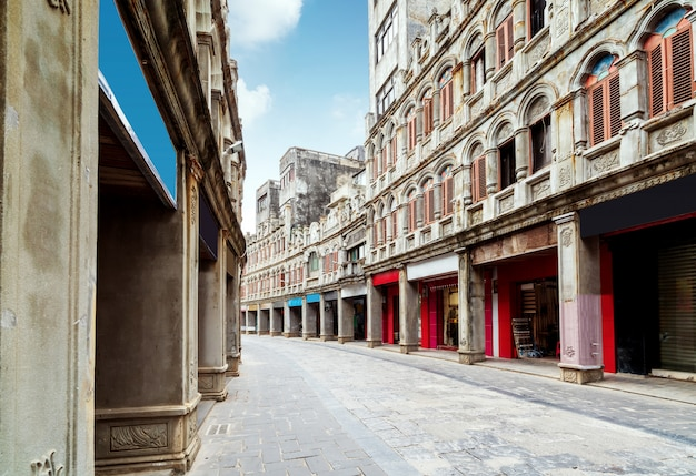 Rua velha tradicional