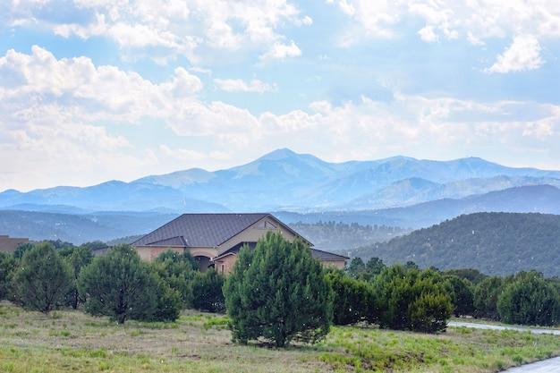 Ruidoso mountains, new mexico, estados unidos da américa