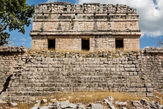 Ruínas antigas em chichen itza