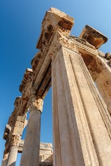 Ruínas da antiga éfeso