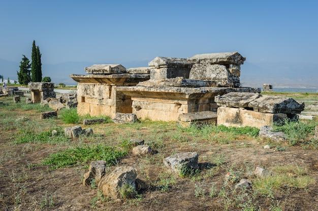 Ruínas de hierápolis, agora pamukkale