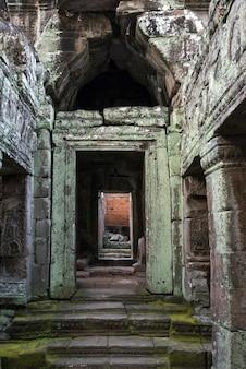 Ruínas do templo de banteay kdei, angkor, siem reap, camboja