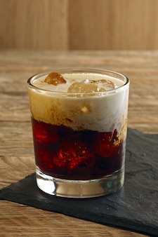 Russo branco do cocktail.