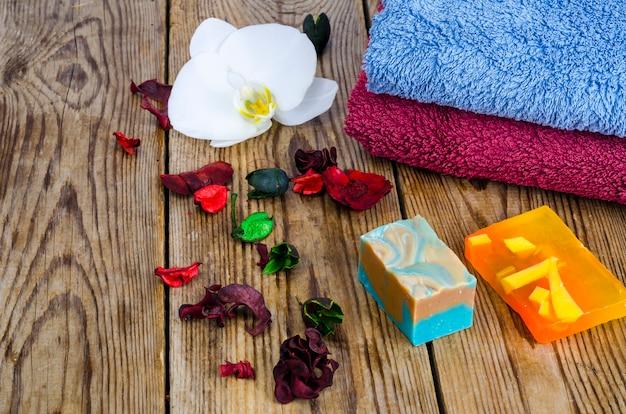 Sabonete artesanal para spa