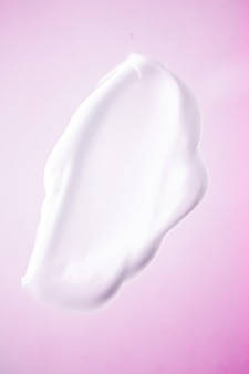 Sabonete em creme, desinfetante para lavagem das mãos ou esfregaço cosmético como limpeza antibacteriana e textura higiênica para barbear ...