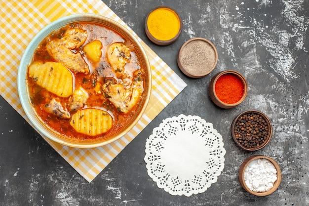 Saborosa canja de frango com batata