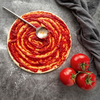 Saborosa pizza tradicional