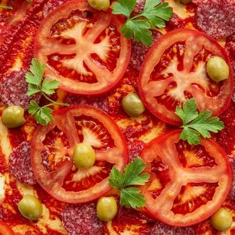 Saborosa variedade de pizzas tradicionais