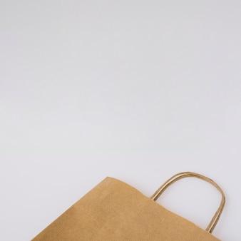 Saco de cartão achatado
