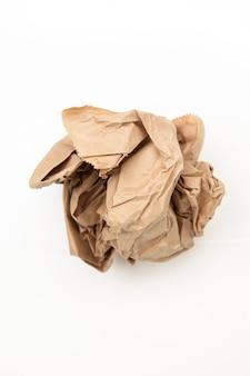 Saco de papel usado