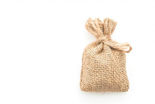 Saco de saco branco