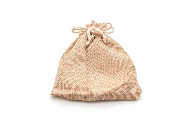 Saco de tecido saco branco
