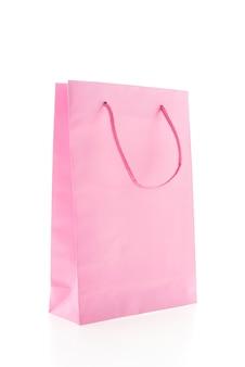 Sacola de compras colorida