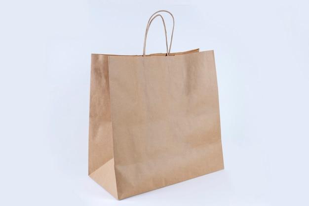 Sacola de compras de papel reciclado